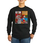 Santa Gets No Respect Long Sleeve Dark T-Shirt