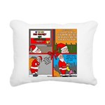 Santa Gets No Respect Rectangular Canvas Pillow