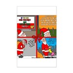 Santa Gets No Respect Mini Poster Print
