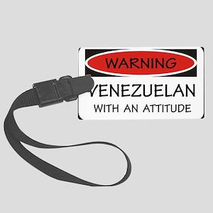 Attitude Venezuelan Large Luggage Tag