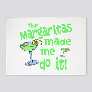 Margaritas made me 5'x7'Area Rug