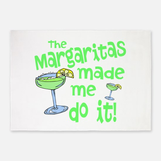 Margaritas made me 5'x7'Area Rug