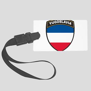 Yugoslavia Large Luggage Tag