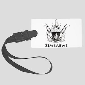 Vintage Zimbabwe Large Luggage Tag