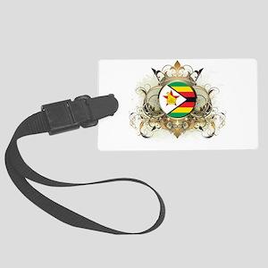 Stylish Zimbabwe Large Luggage Tag