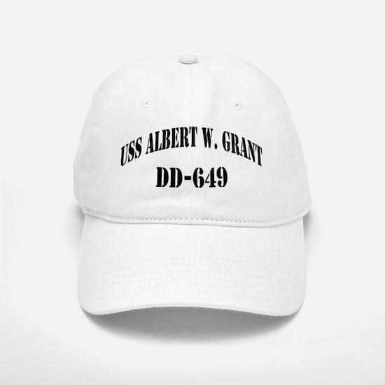 USS ALBERT W. GRANT Baseball Baseball Cap