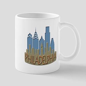 Philly Skyline Newwave Beachy Mug