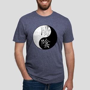 yinyanga Mens Tri-blend T-Shirt
