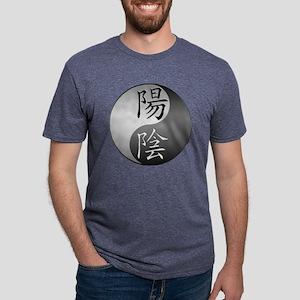 yinyangmetal Mens Tri-blend T-Shirt