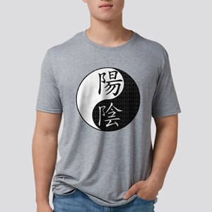 yinyangmarble Mens Tri-blend T-Shirt