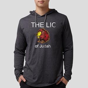 Lion of Judah Mens Hooded Shirt