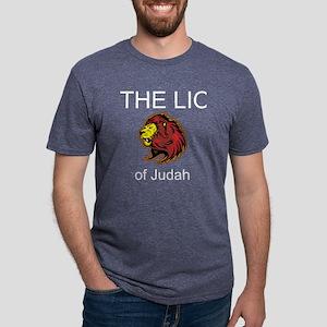 Lion of Judah Mens Tri-blend T-Shirt
