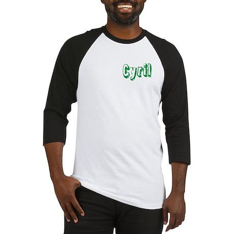 Cyril centered Baseball Jersey