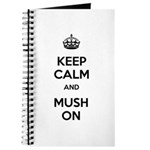 Keep Calm and Mush On Journal