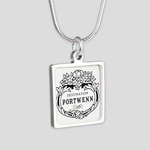 Portwenn Silver Square Necklace