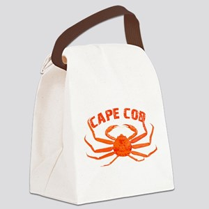 Cape Cod Crab Canvas Lunch Bag