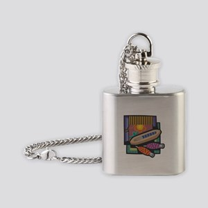 Weaving Flask Necklace
