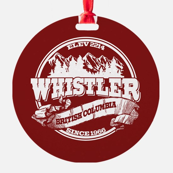 Whistler Old Circle Ornament