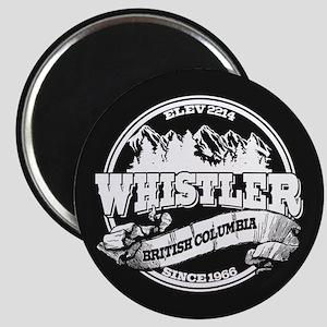 Whistler Old Circle Magnet