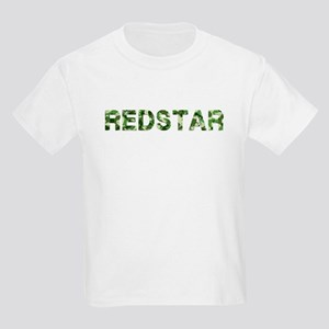 Redstar, Vintage Camo, Kids Light T-Shirt