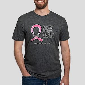 Mom Breast Cancer Mens Tri-blend T-Shirt