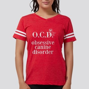 Canine Disorder Womens Football Shirt