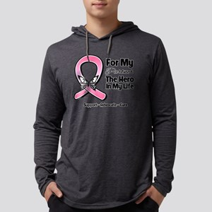 Partner Breast Cancer Mens Hooded Shirt
