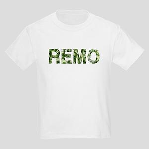 Remo, Vintage Camo, Kids Light T-Shirt