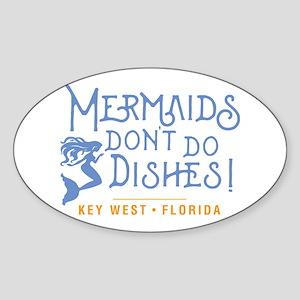 Key West Mermaid Sticker