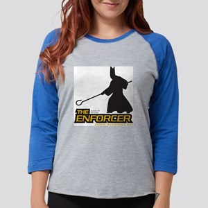tee-enforcer101 Womens Baseball Tee