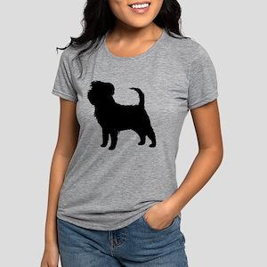 Affenpinscher Womens Tri-blend T-Shirt