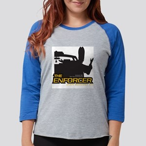 tee-enforcer102 Womens Baseball Tee