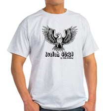Isaiah 40:31 Wings of Eagles Light T-Shirt