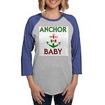 2-Anchor BABY 1.jpg Womens Baseball Tee