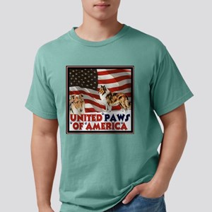 United Paws of America T Mens Comfort Colors Shirt