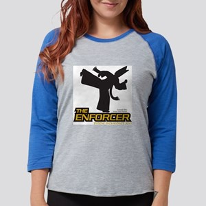 tee-enforcer104-A Womens Baseball Tee