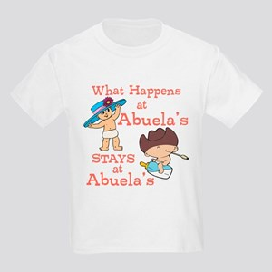 What Happens at Abuela's Kids Light T-Shirt