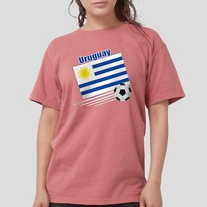 Uruguay Soccer Team Womens Comfort Colors Shirt