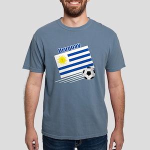 Uruguay Soccer Team Mens Comfort Colors Shirt