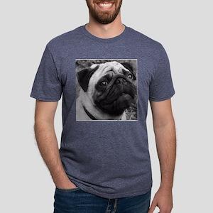 pugtile Mens Tri-blend T-Shirt