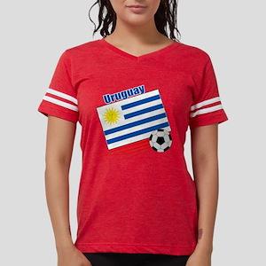 Uruguay Soccer Team Womens Football Shirt