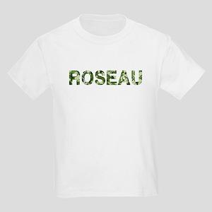 Roseau, Vintage Camo, Kids Light T-Shirt