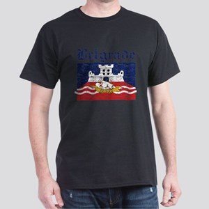 Flag Of Belgrade Design Dark T-Shirt