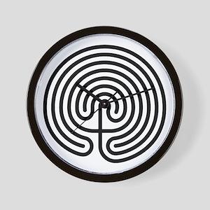 Labyrinth AO Wall Clock