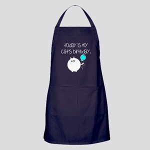 My Cats Bday Apron (dark)