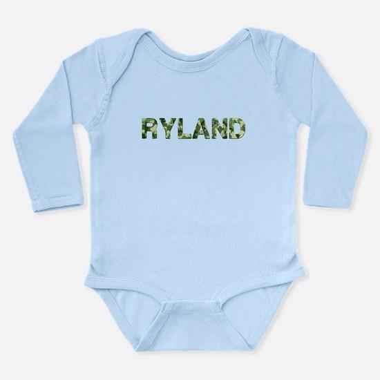 Ryland, Vintage Camo, Onesie Romper Suit