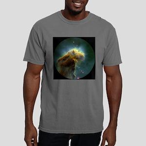 eagle-big-button Mens Comfort Colors Shirt