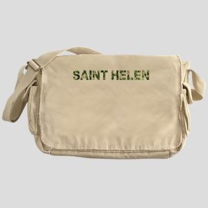 Saint Helen, Vintage Camo, Messenger Bag