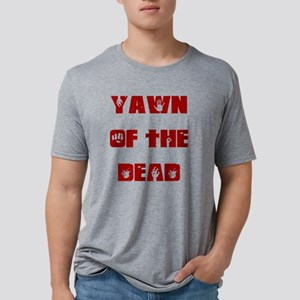 Yawn of the dead Mens Tri-blend T-Shirt