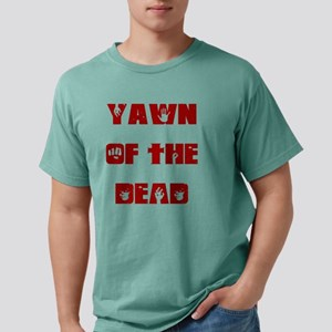 Yawn of the dead Mens Comfort Colors Shirt